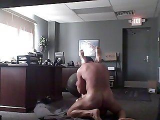 Secret sex in the office