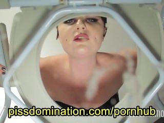 Quinn Helix Femdom Toilet Domination