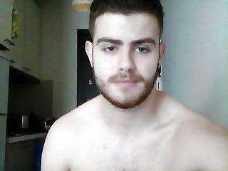 Greek Handsome Boy On Cam, Nice Big Cock, Sexy Ass