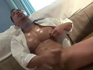 Oiled Asian Muscle