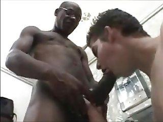 White Twink,Enjoys, Pain & Ecstasy of Black Daddy.s Cock.