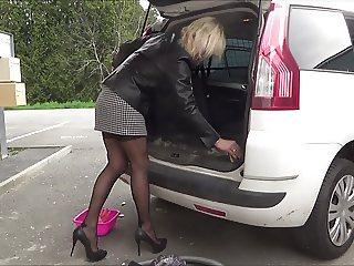 full fashion stocking classic lady