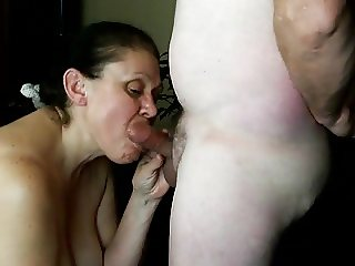 Ugly blowjob
