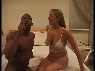 Perfect Blonde Filmed by Hubby