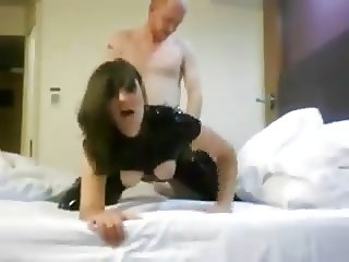 Pvc Catsuit Fucked Hard Orgasm Several times, Moaning latex