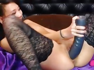 asian fucks hitachi huge toy and fist