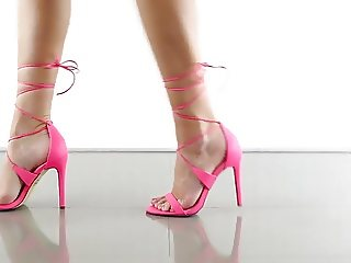 strappy heel compilation