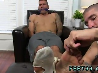 Gay porn taboo boys Johnny Foot Fucks Caleb