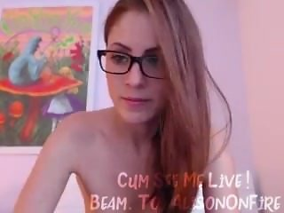 Beam.To/AlisOnFire - Amateur Squirting Webcam Babe Live on Camera! #2