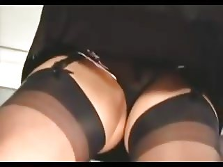 Nylon Stocking Voyeur 6