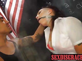 Adorable babe wants some bondage fucking