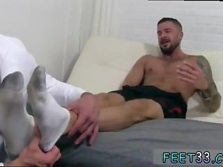 Teen boy on boy gay porn tube Dolf's Foot Doctor Hugh Hunter