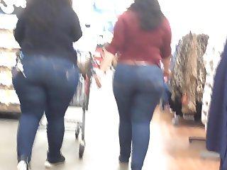 Latina Phat Ass Jeans Duo