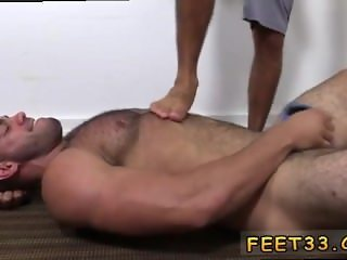 Gay male feet videos and movies that show male feet Ricky gets nude and