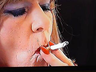 Samantha Smoking fetish one
