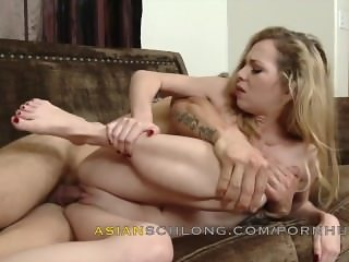 Asian Guy Jerremy Long Creampies White Girl Angel Smalls AMWF AMXF