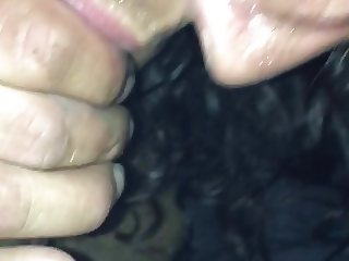 Wet blowjob