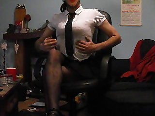 Sexy school girl uniform part 2