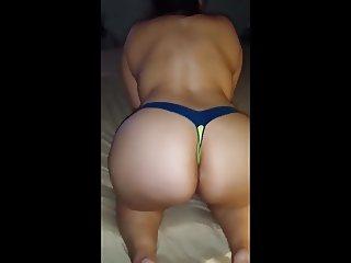 Big BBW Mexican Candid Booty