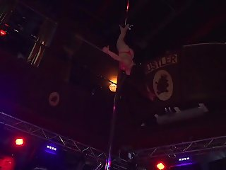 The best pole dancer