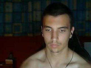 Greek Beautiful Boy Shows His Big Cock & His Nice Ass On Cam