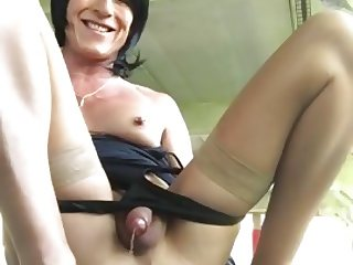 Tranny destroyed ass 2