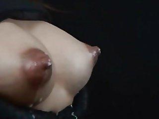 Cute Asian Babe Lactating