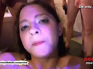 Best of shy amateur Nicole - Extreme Bukkake