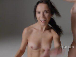 Hegre-Art Julietta And Magdalena Nude Dance Performance