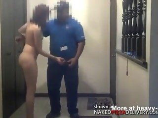 Pizza guy gets Blowjob NPD
