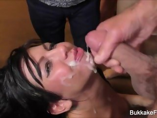 Gina Jameson Bukkake Hot Party