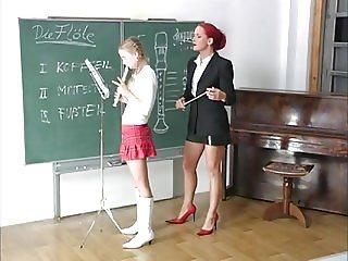 kinky lesson flute - part1