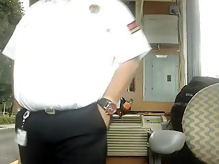 horny daddy at work