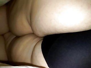 Big Butt milf in black panties