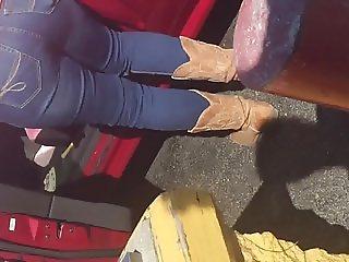 Carwash Gilf in tight jeans