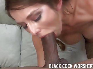 Big black cocks like this make me so wet