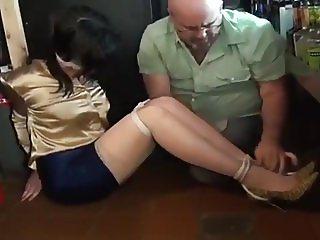 Barmaid Nyxon attacked and bound