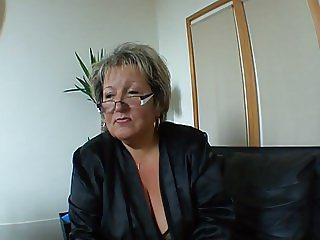 French BBW Milf Carole