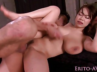 Bigtitted nippon model titfucking hard cock