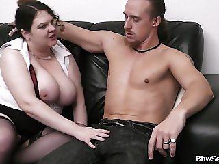Horny fat bitch seduces married man