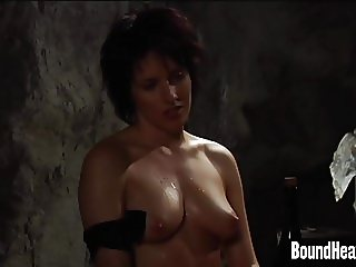 Naked Handcuffed Chicks Whipped Hard