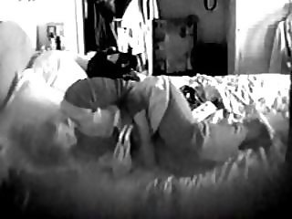 House sitter wanks to wife's porn hidden cam