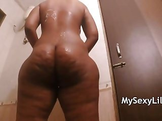 Big Ass Indian Babe Horny Lily Masturbate
