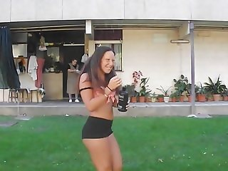 Teen Slut #37 (water bucket challenge)