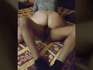 Brazilian Wife Rides Husband Friend Dick