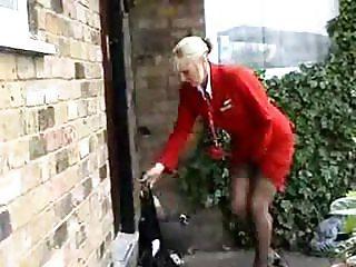flight attendant needs to piss part 1