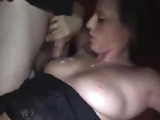 Hot slut loves cum