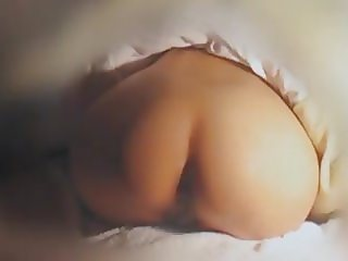Wife In A Yoga Pose, Slowly Moving Her Butt Left and Right