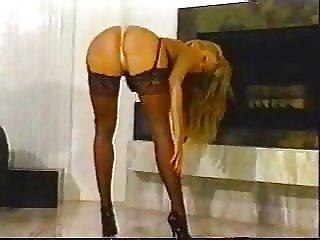 Big Fake Tits and Stockings