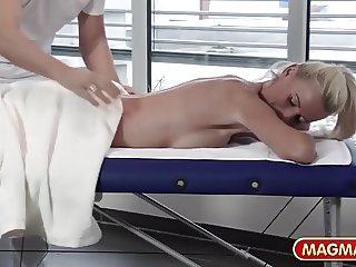 Sexy German Mature Massage